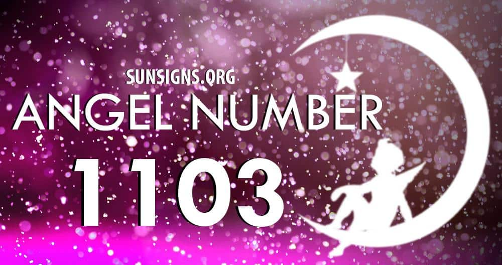 angel number 1103