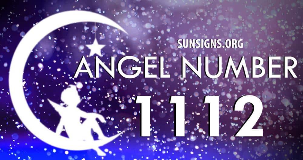 angel number 1112