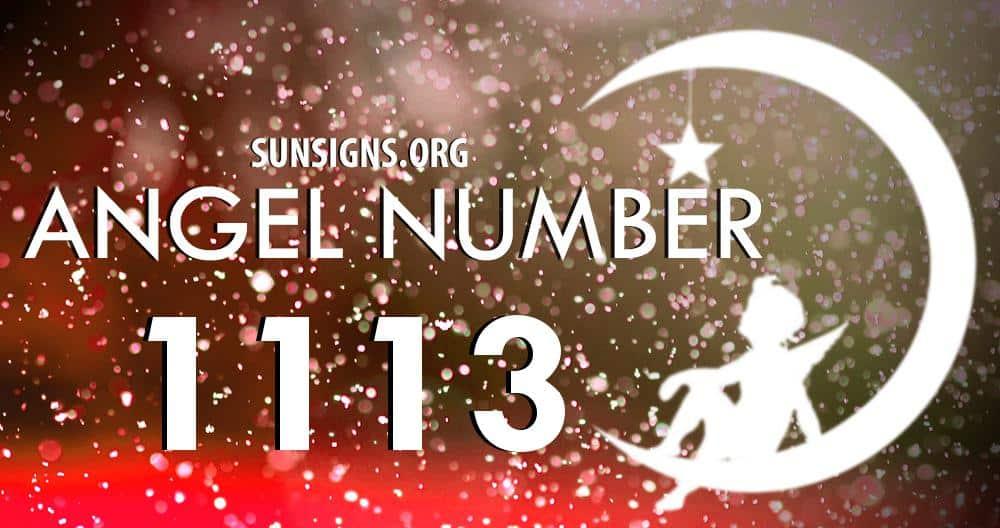 angel number 1113