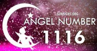 angel number 1116