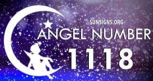 angel number 1118