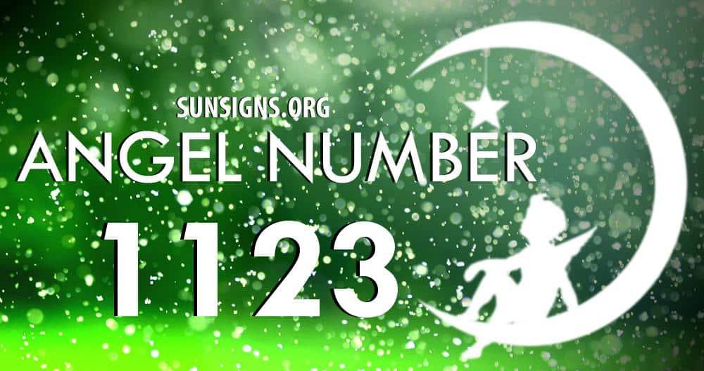 angel number 1123