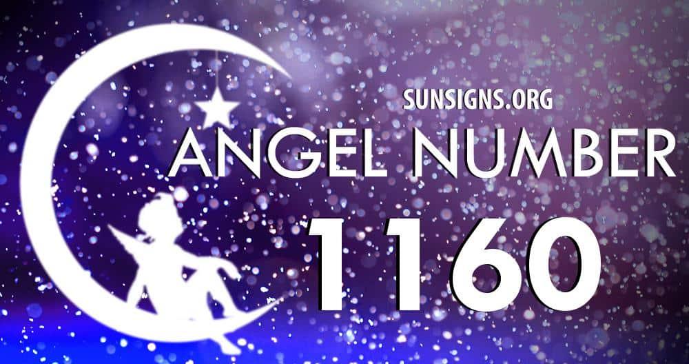 angel number 1160