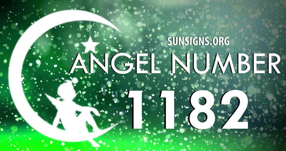 angel number 1182