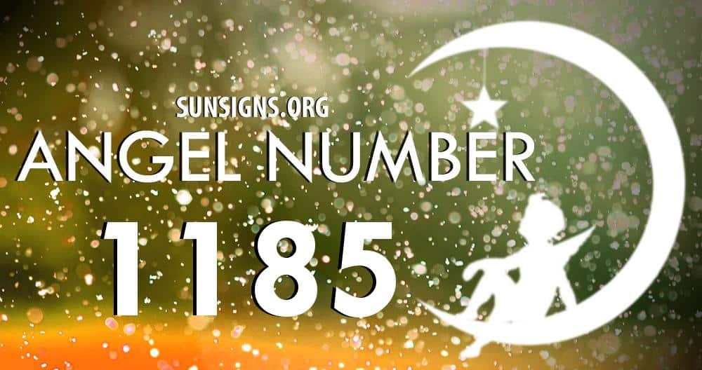 angel number 1185