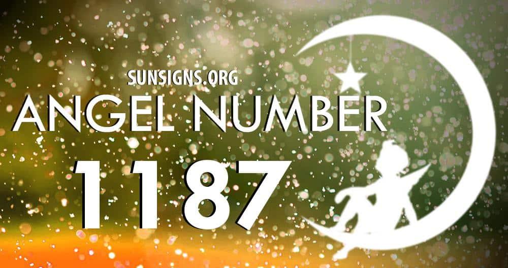 angel number 1187