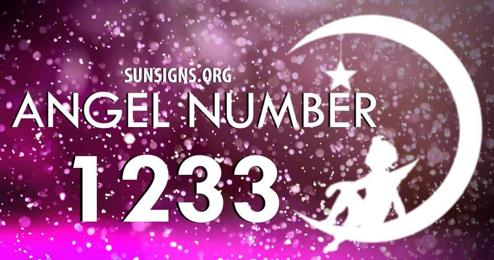 angel number 1233