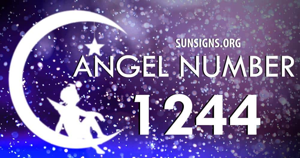 angel number 1244