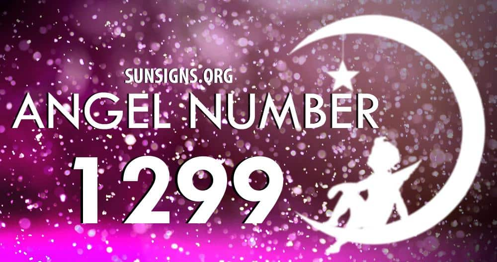 angel number 1299