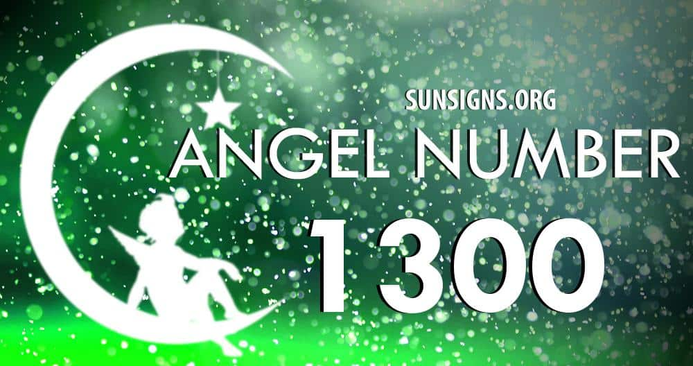 angel number 1300