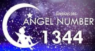 angel number 1344