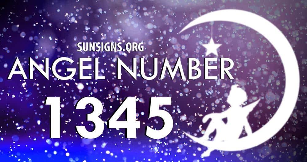 angel number 1345