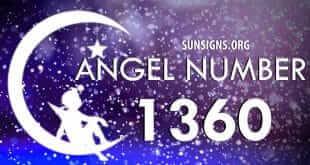 angel number 1360