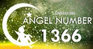 angel number 1366