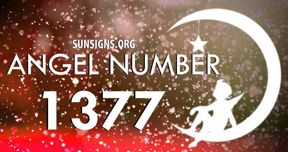 angel number 1377
