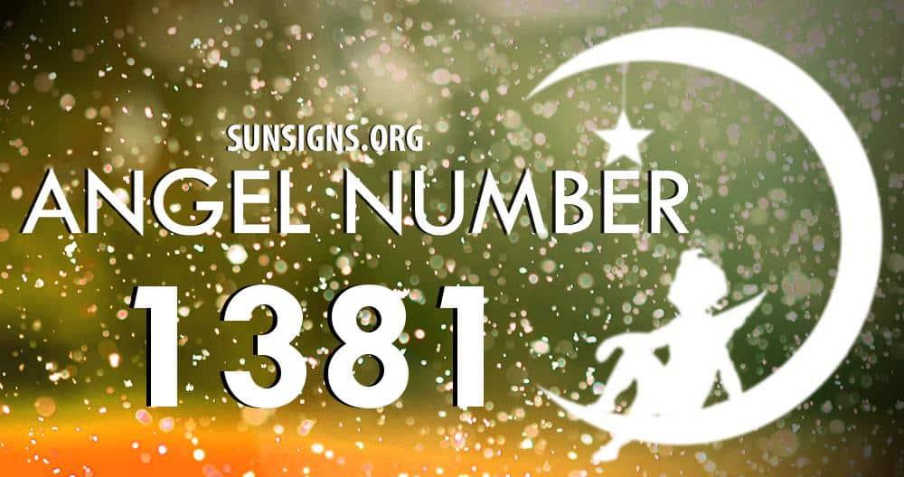 angel number 1381