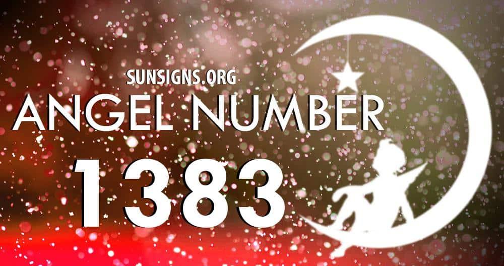 angel number 1383
