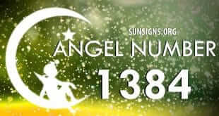 angel number 1384