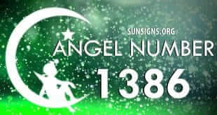 angel number 1386