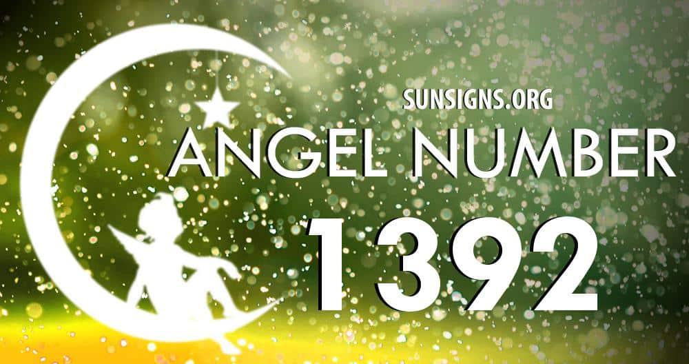 angel number 1392