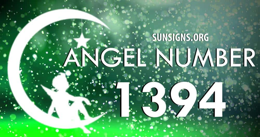 angel number 1394