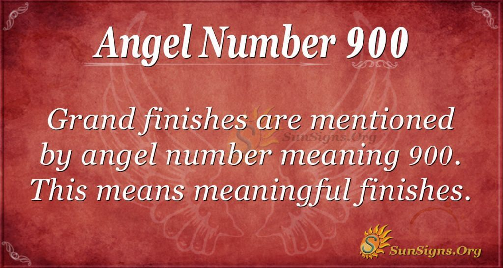 angel number 900