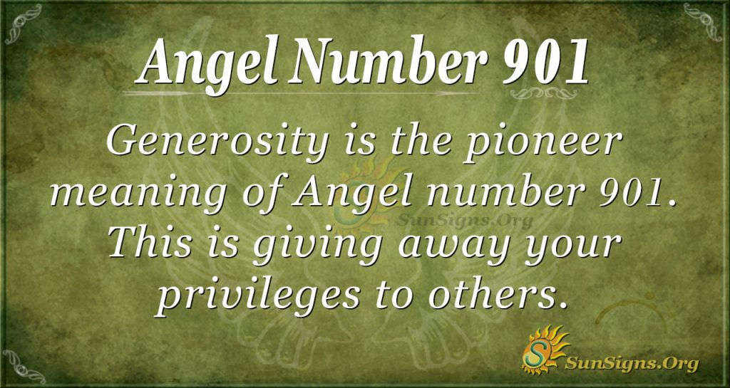 angel number 901