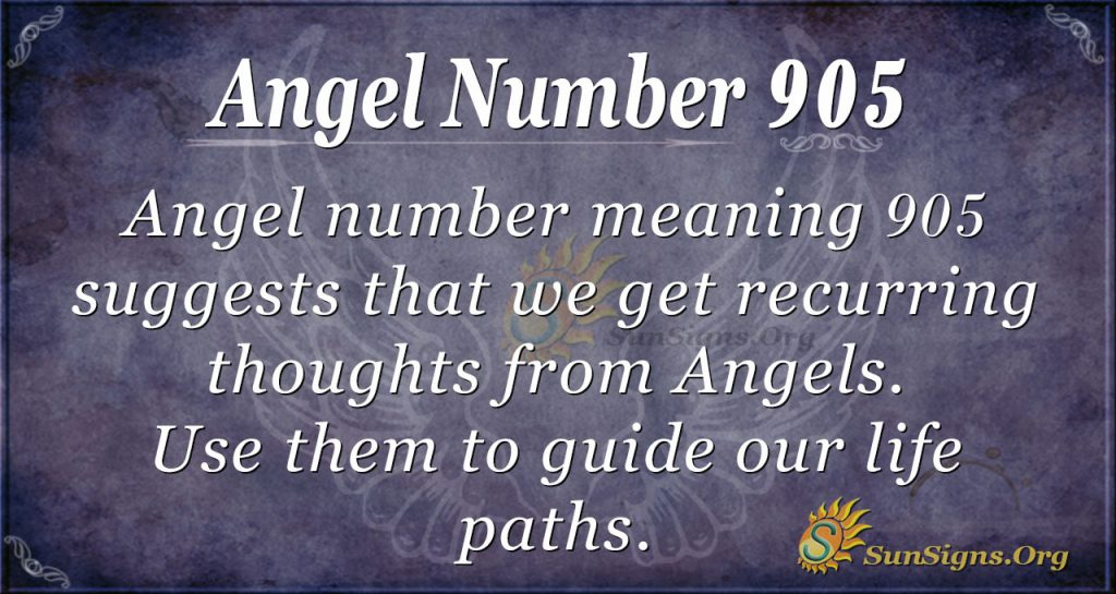 angel number 905