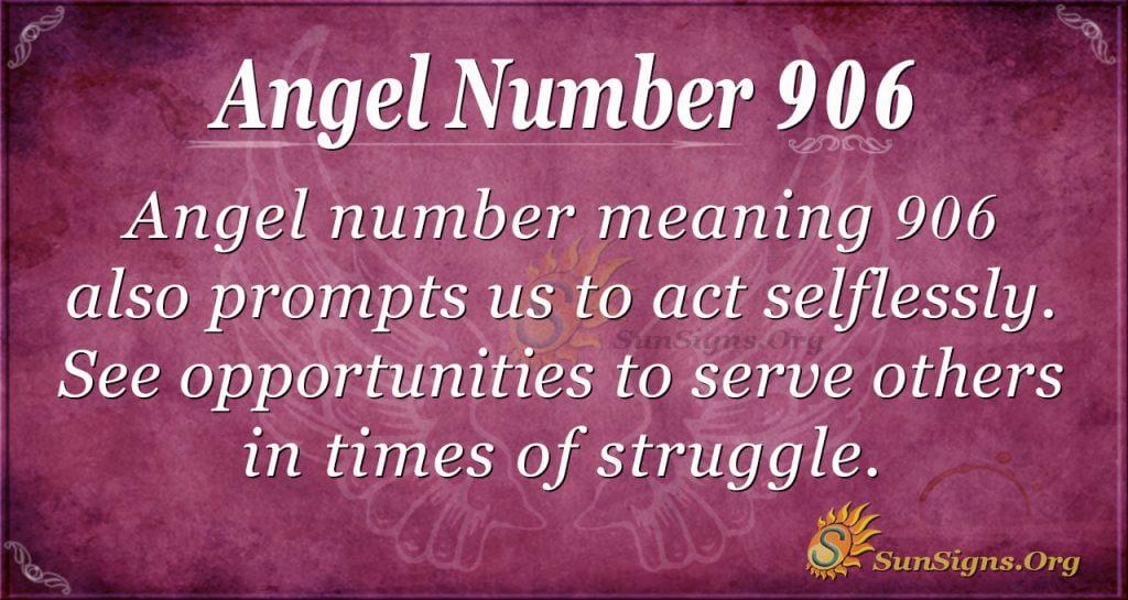 angel number 906