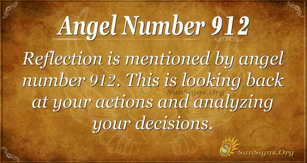 angel number 912