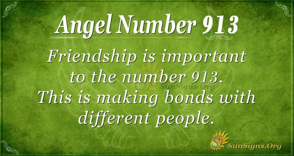 angel number 913