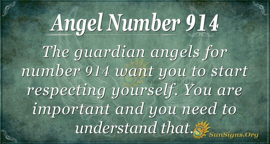 angel number 914