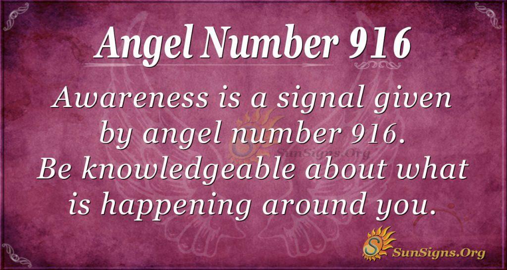 angel number 916