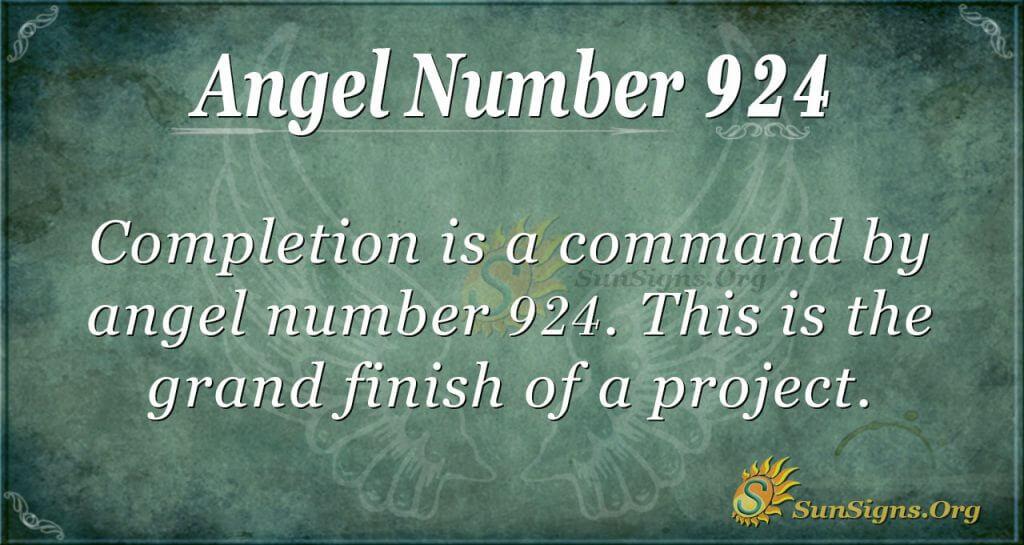 angel number 924