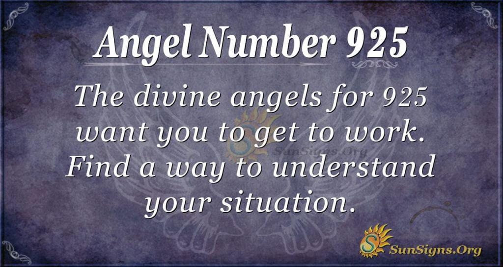 angel number 925