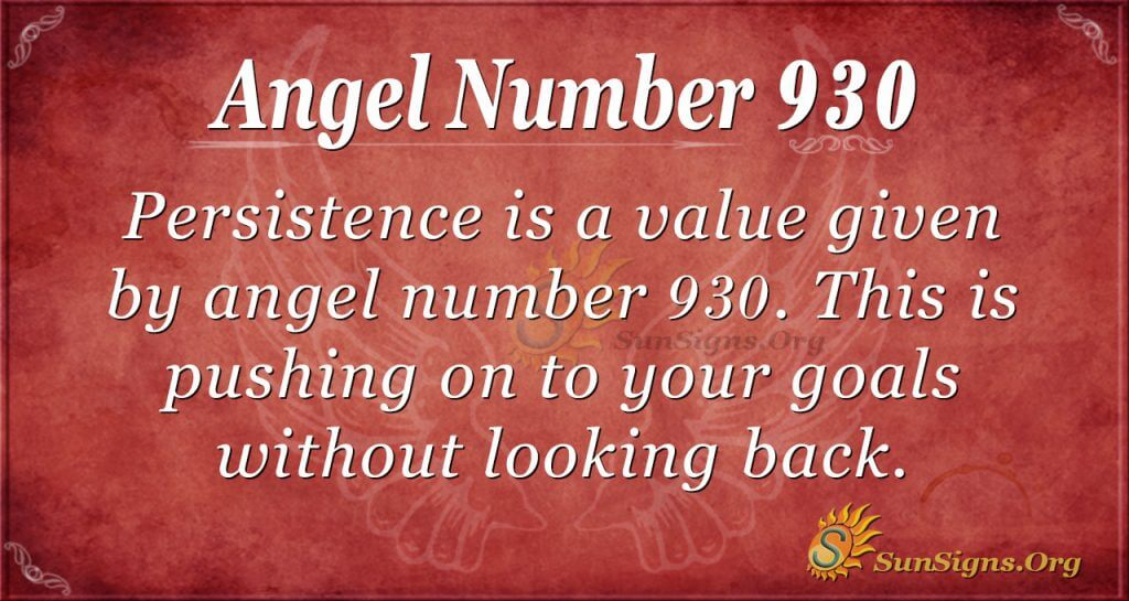 angel number 930