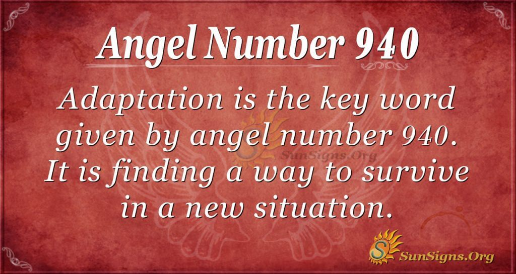 angel number 940