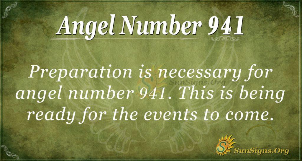 angel number 941