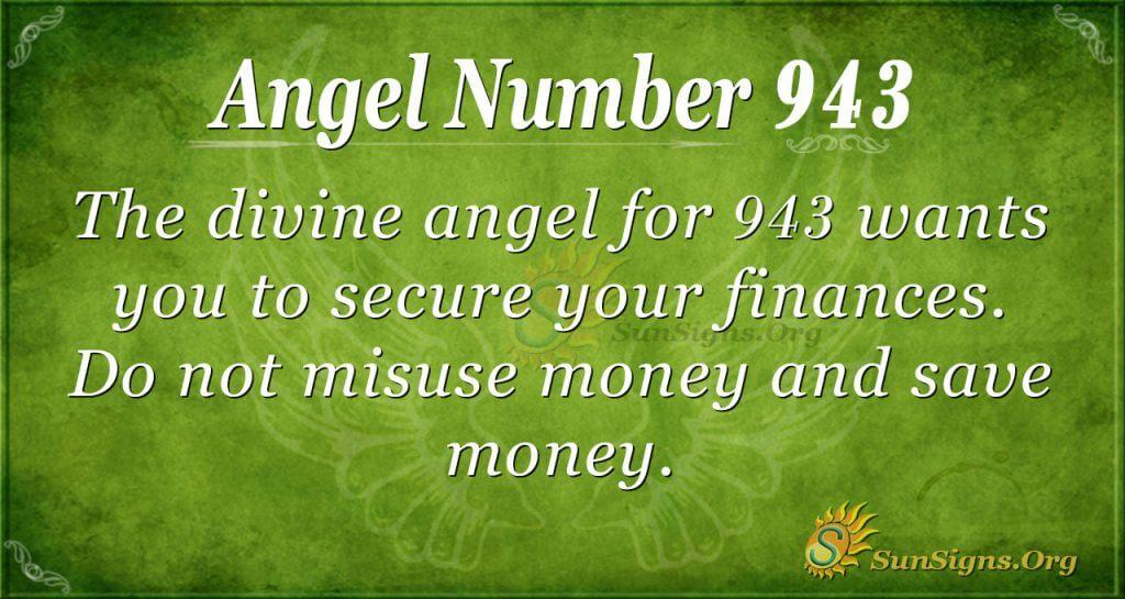 angel number 943
