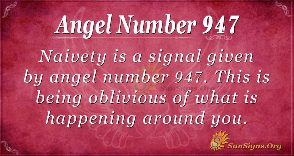 angel number 947