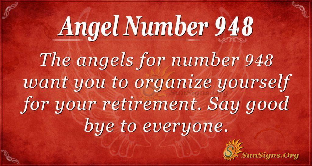 angel number 948