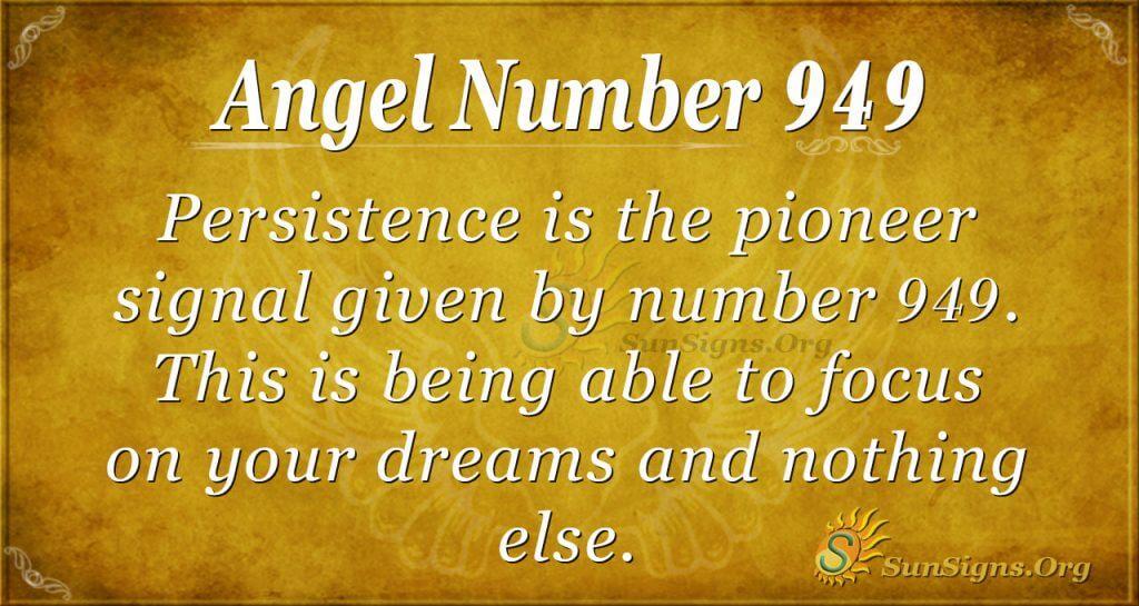 angel number 949