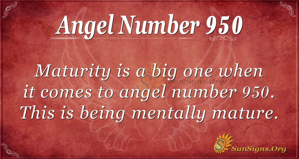 angel number 950