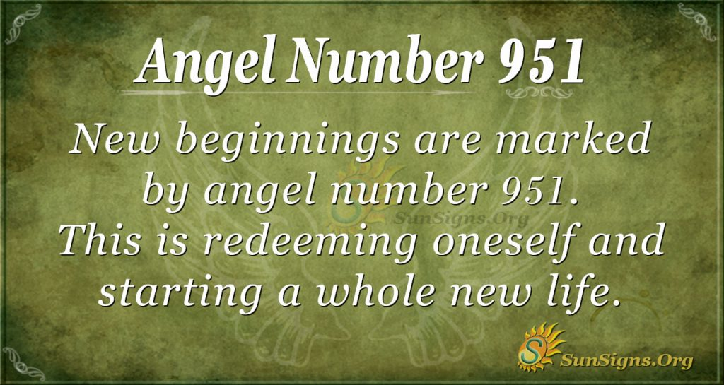 angel number 951