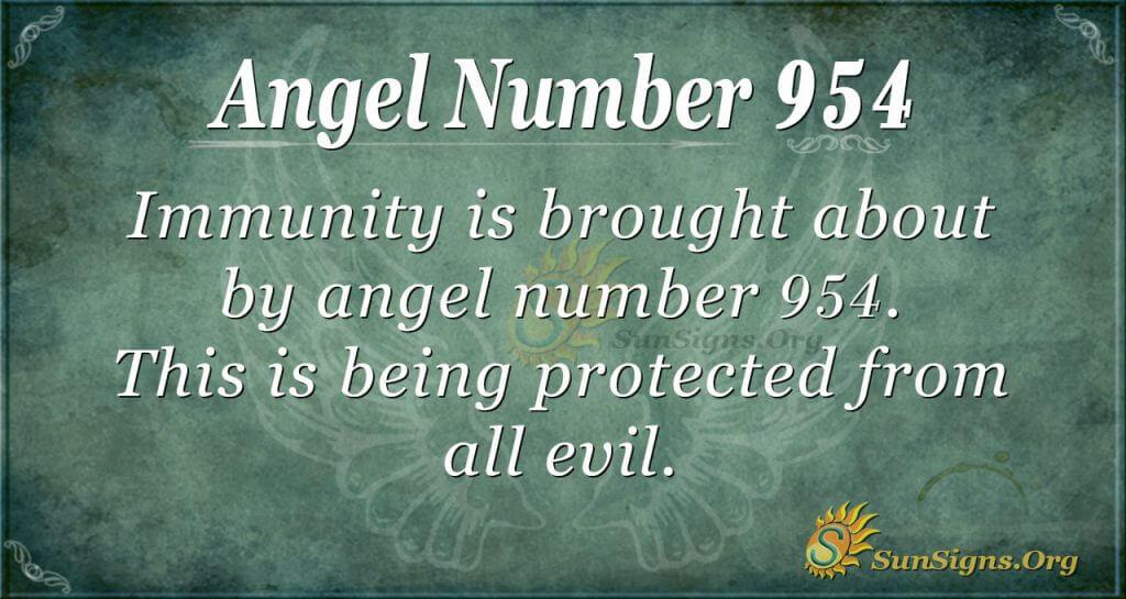 angel number 954