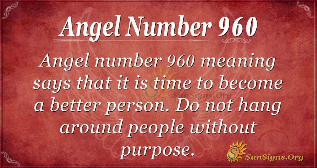 angel number 960