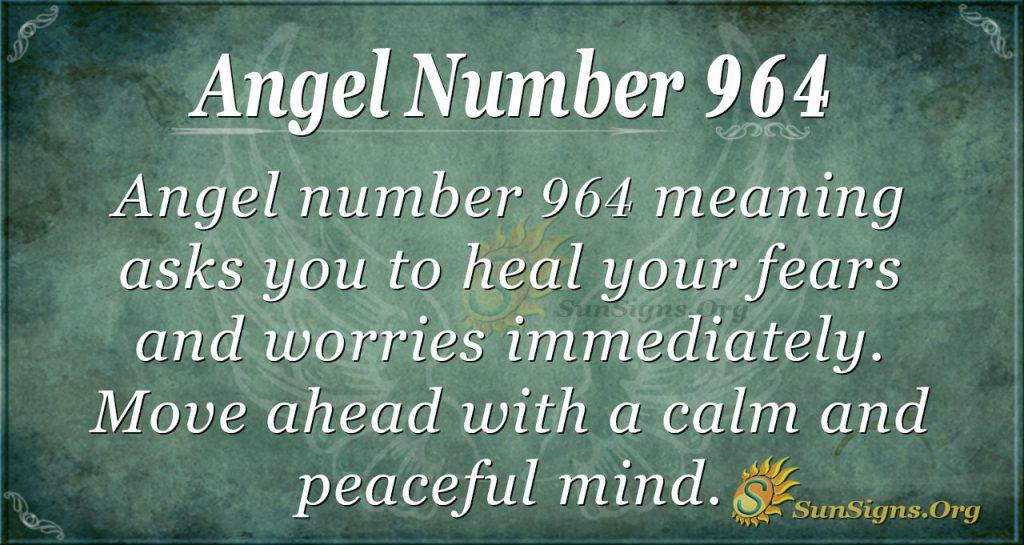 angel number 964