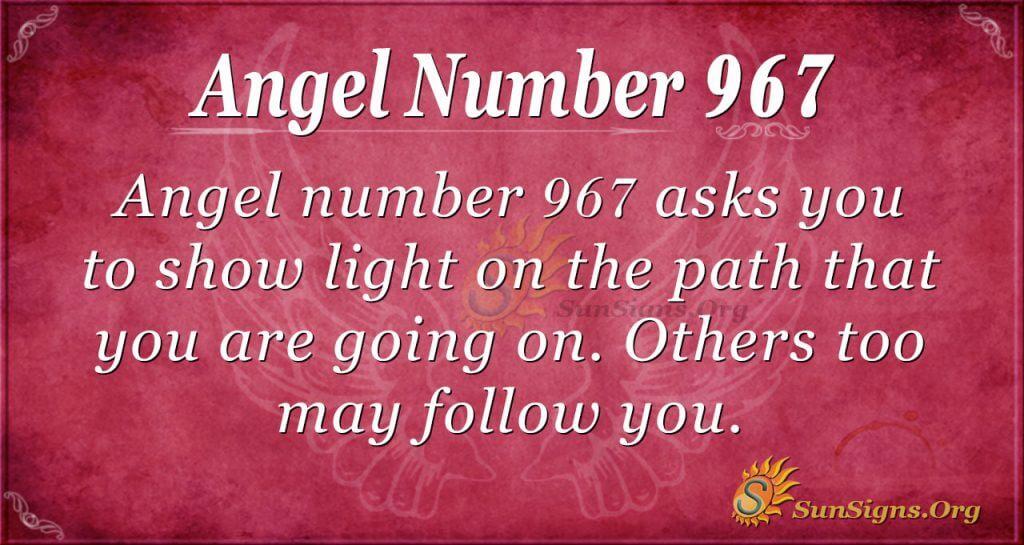 angel number 967