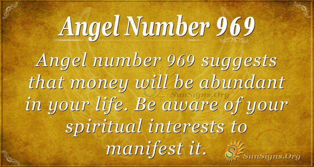angel number 969