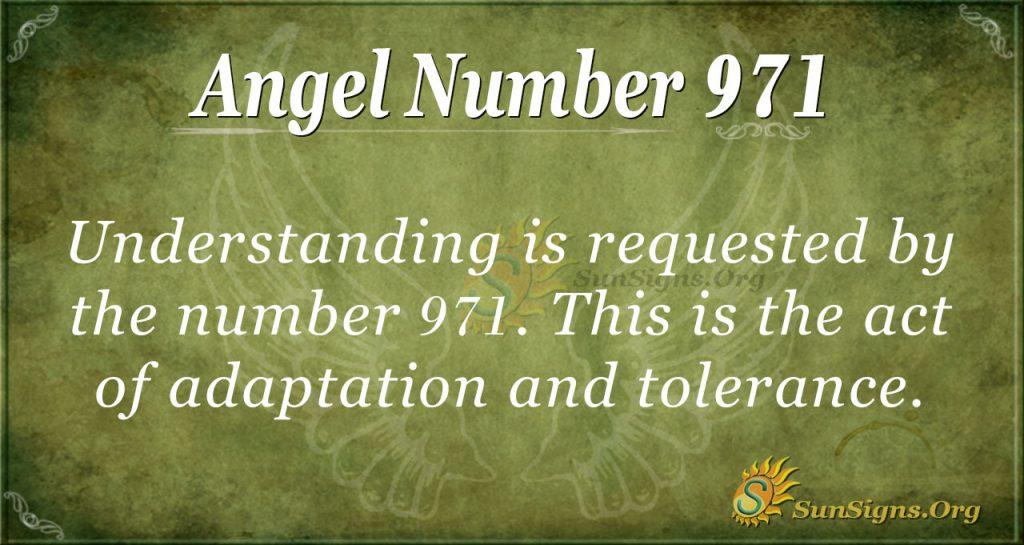 angel number 971
